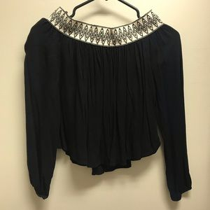 ⭐️ 5 for $10⭐️ Black Crop Top